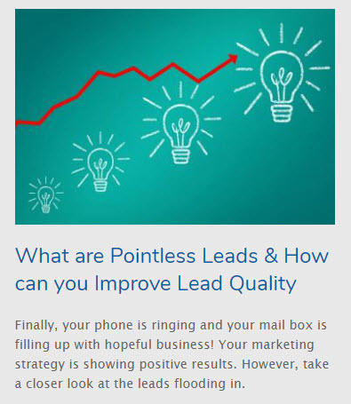 lead management software to increase lead quality